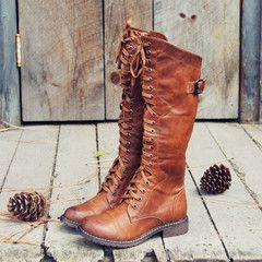 Boots & Shoes- Rugged Vintage Inspired Boots & Shoes from Spool No.72. | Spool No.72