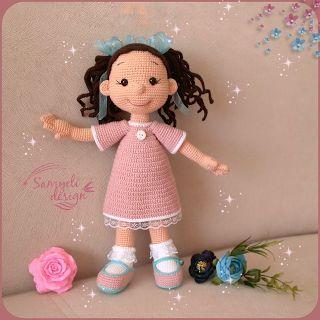Samyelinin Örgüleri: Cute Amigurumi Doll
