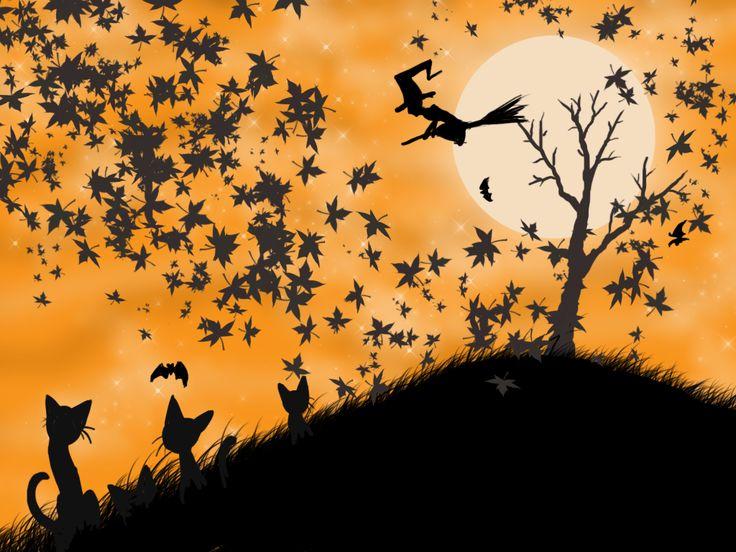 Halloween Wallpaper Desktop Cute Wallpapers Pinterest