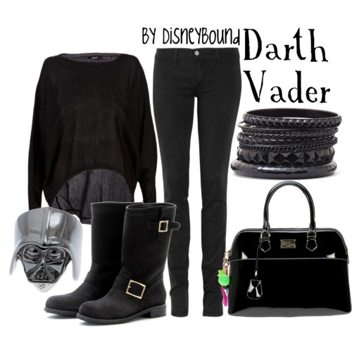hahaha i pretty much wore this EXACT same outfit today. apparently i am darth vader