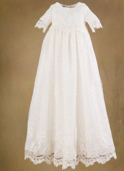 Possible baptism gown