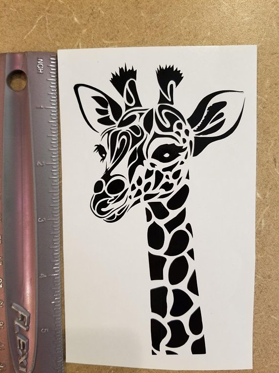 Pin By Jennifer On My Etsy Shop Giraffe Decal Car Monogram Decal Planner Stickers