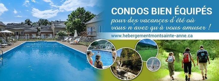 Enjoy the sunny week-end with us at Hebergement Mont Sainte-Anne ! Our packages offer very good value quality-price. Plus, the mountain bike competition arrives soon! Be ready ☀️   www.hmsalm.com