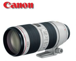 Lente Canon 70-200mm f/2,8L IS USM II      Focus Filme - A sua loja de Equipamentos Fotográficos Profissionais