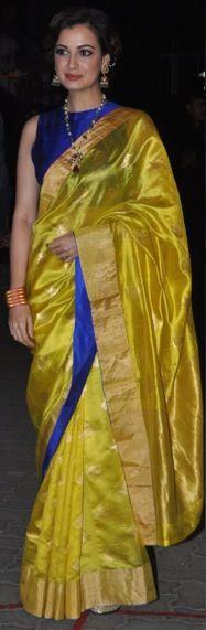Dia Mirza.. Canary and royal