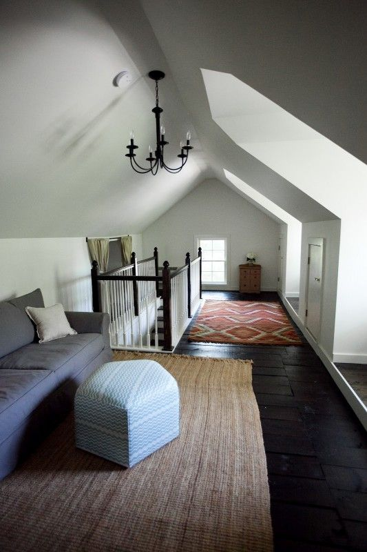 25 Inspiring Finished Attics via Remodelaholic.com #remodel #attic