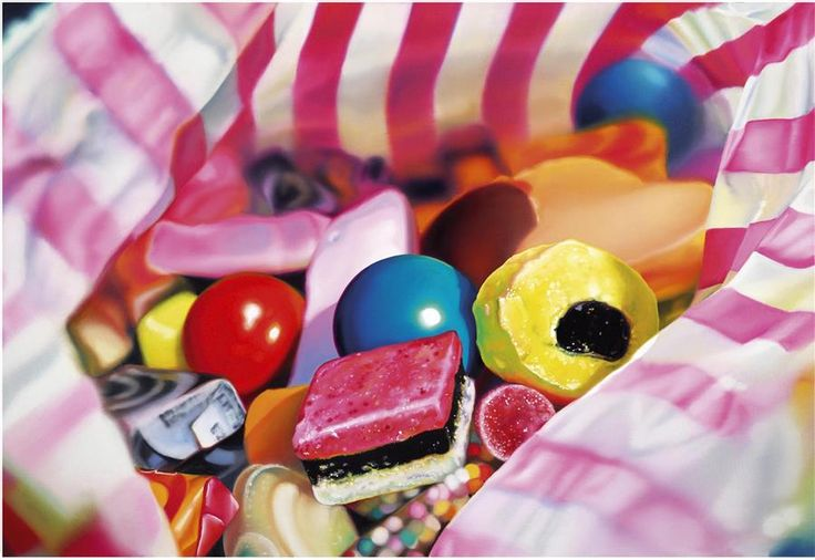 A signed limited edition artwork by popular contemporary artist Sarah Graham, entitled Pick N Mix