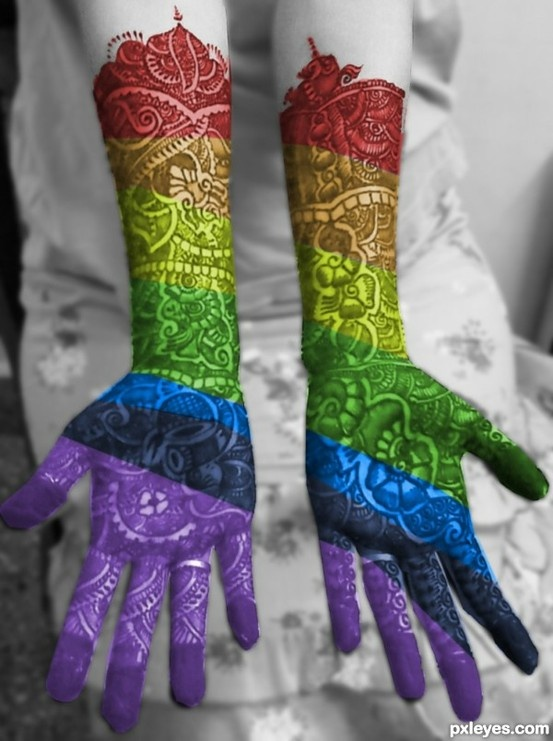Colorful Henna Designs: Henna Tattoos! My Mom Does