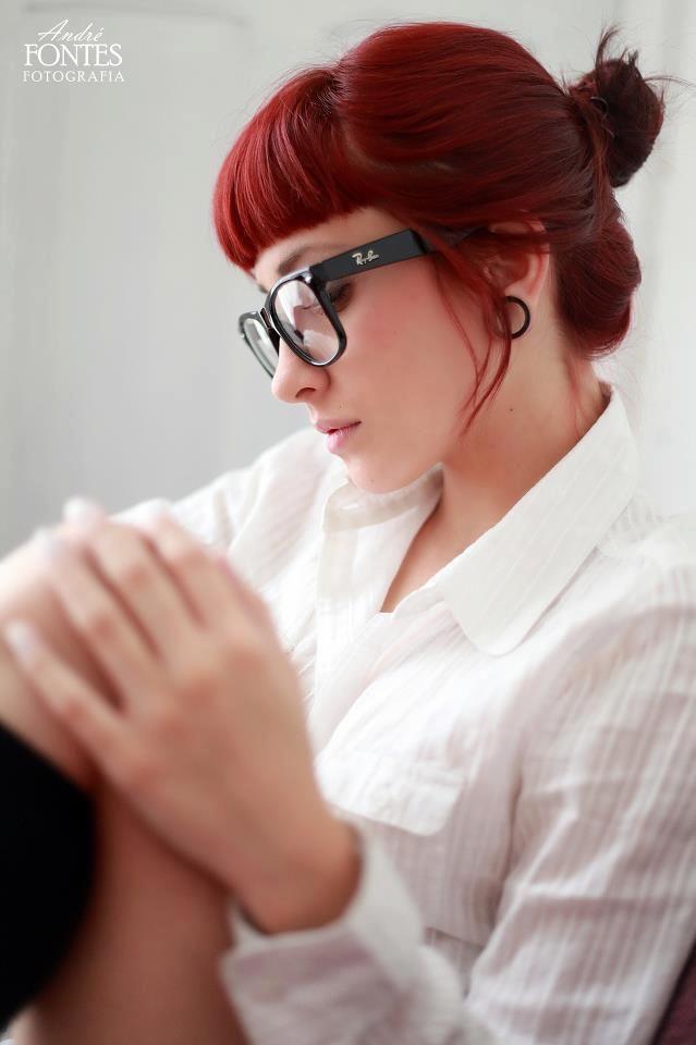 dark red hair                                                       …