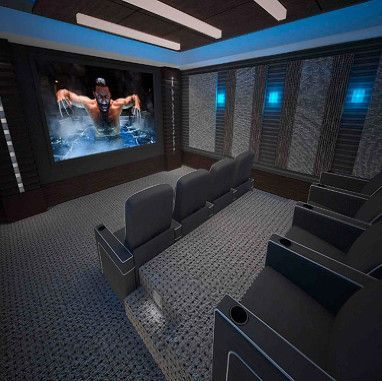 17+ Best Ideas About Small Media Rooms On Pinterest | Cinema Movie
