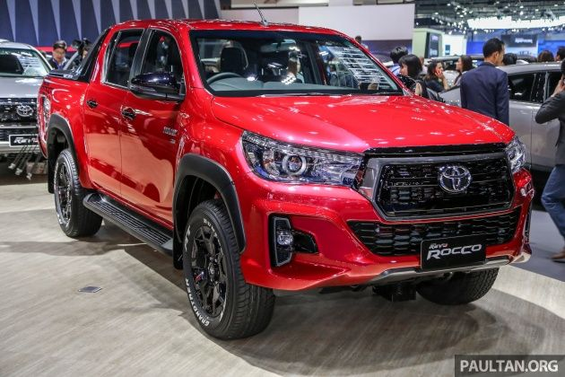 Thai Toyota Hilux Revo Rocco Now Available As A 2 4l Toyota Hilux Toyota Car