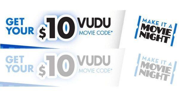 Vudu coupon codes