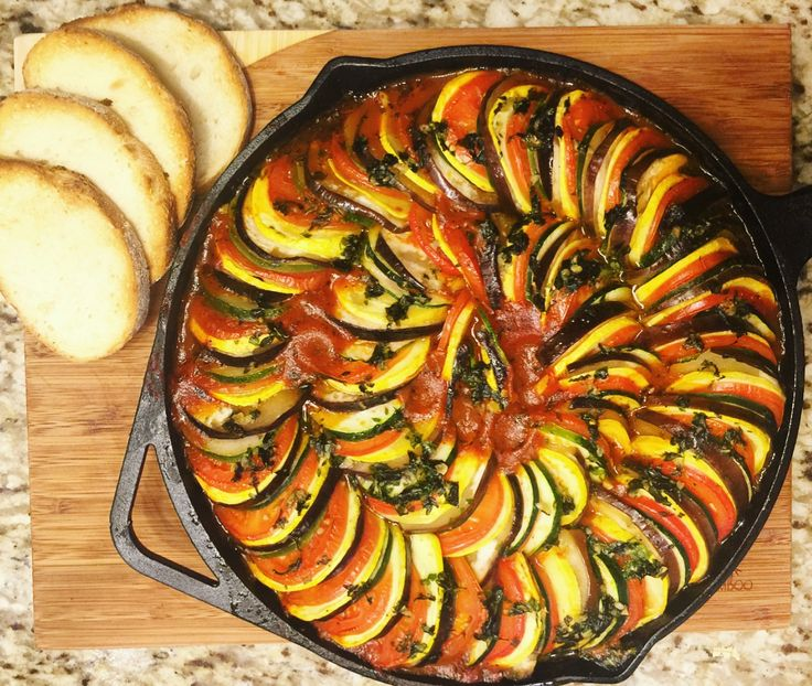 I love ratatouille. No, I'm not talking about the Disney movie (although I did enjoy that film as well) I mean the delicious vegetable dish! The recipe contains simple, tasty ingredients; man…