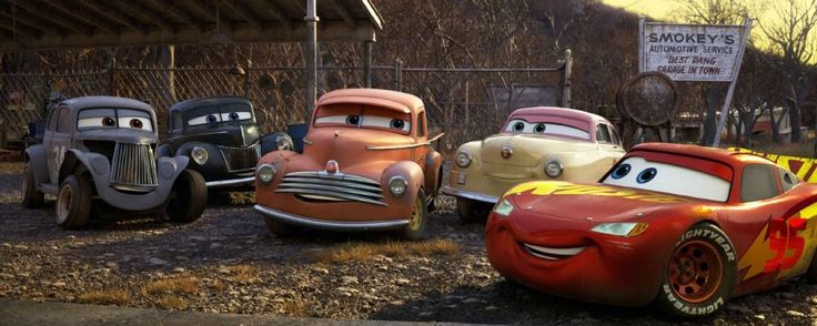 Meet A Few New 'Cars 3' Characters Inspired by NASCAR Legends