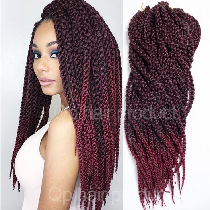 "3D Cubic Twist Crochet Braids Ombre 24"" 150g/pack Ombre Crochet Braid Hair Extensions High Quality Kanekalon Braids Hair"
