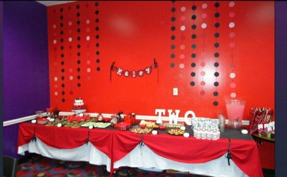 Decoraciones para fiesta tematica ladybug pinterest for Decoraciones para fiestas