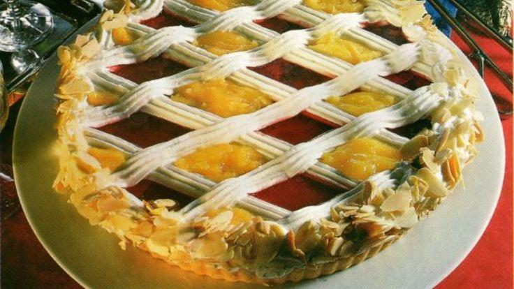 Culinária | Receita de Tarte Quadriculada com Amêndoa e Geleia de Groselha