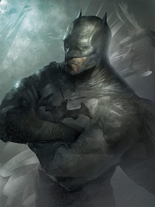 Batman Concept Art
