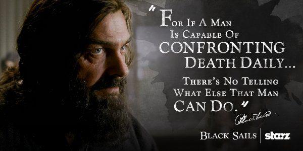 "Black Sails~S3. Edward Teach ""Blackbeard"""