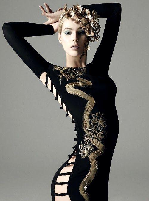 Juju Ivanyuk by Gorka Postigo for Harper's Bazaar Spain June 2013