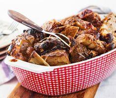 Recept: Revbensspjäll med ingefära och honung (Ribs with ginger and honey)