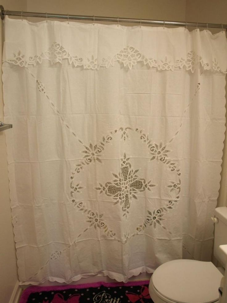 Best 25 Lace Shower Curtains Ideas On Pinterest Rustic Shower Curtains Curtain Styles And