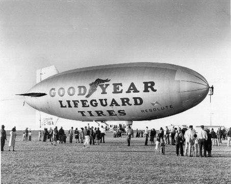 A glimpse of our past-The Goodyear Blimp