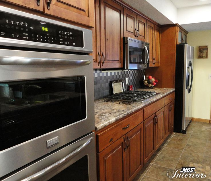 A Kitchen Remodel In Fort Wayne, Indiana, Has A