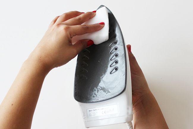 10 näh tipps bügeleisen sauber machen 1