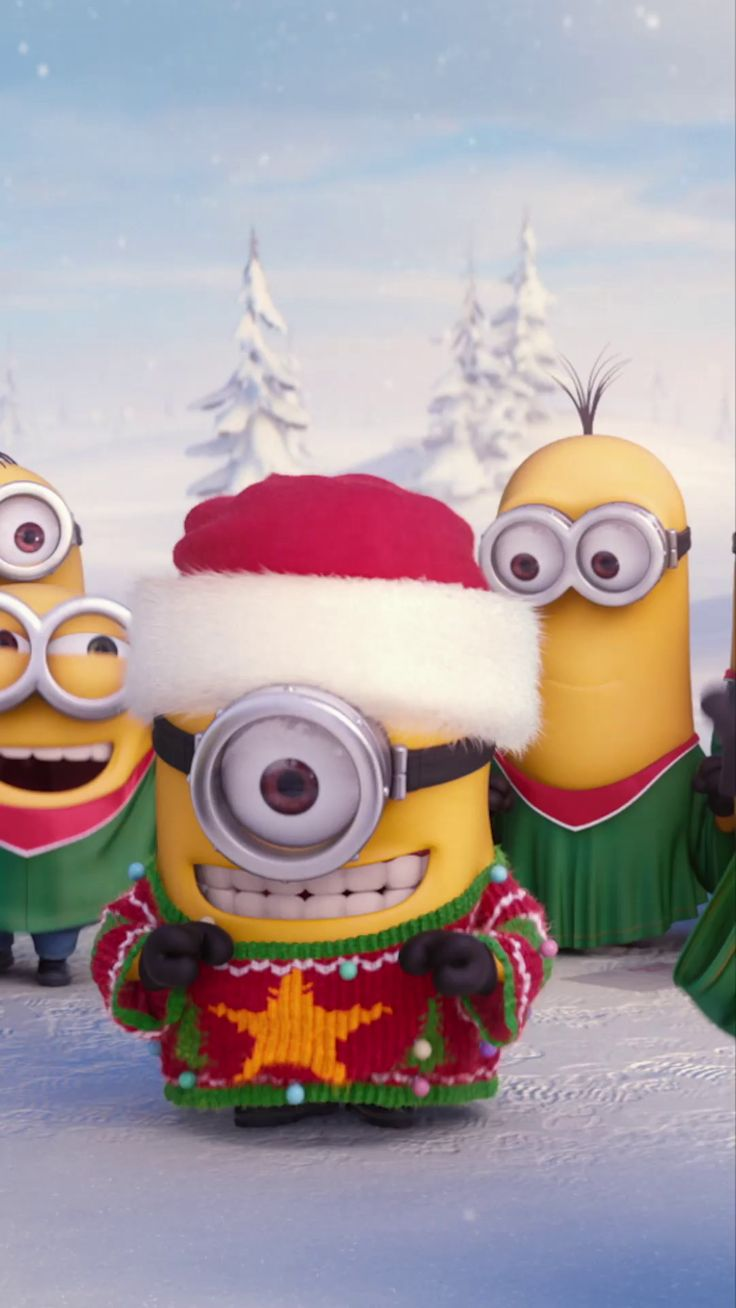 Happy holidays from the Minions!  Everyone wants the #1 Animated Comedy for the holidays.   Own it on Blu-ray, DVD & Digital.
