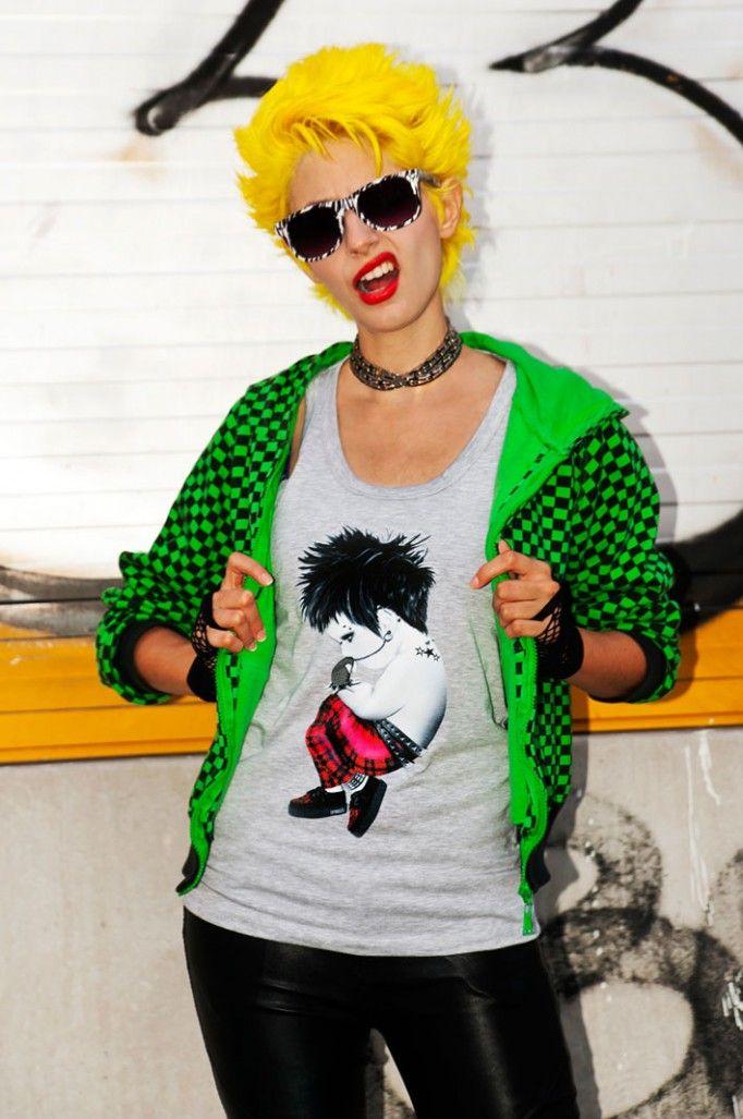 Parola d'ordine..FLUO!! A Strange Beauty by Emy Rice  #punk #siamoises  http://bit.ly/siamoisesastrangebeauty http://bit.ly/punksiamoises