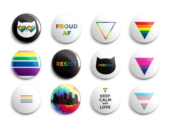 Protest Pins Magnets Choose Your Own Resist Lgbtq Pride Protest Pins Black Lives Matter Political Magnets Pinback Buttons Protest Pins Pin And Patches Buttons Pinback
