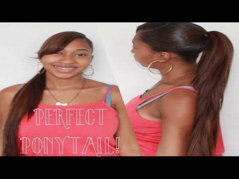 Turn 8 Inch Weave To 20 Inches - Invisible Ponytail Method - http://community.blackhairinformation.com/video-gallery/weaves-and-wigs-videos/turn-8-inch-weave-to-20-inches-invisible-ponytail-method/