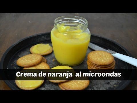 Orange curd o crema de naranja al microondas | Cuuking! Recetas de cocina