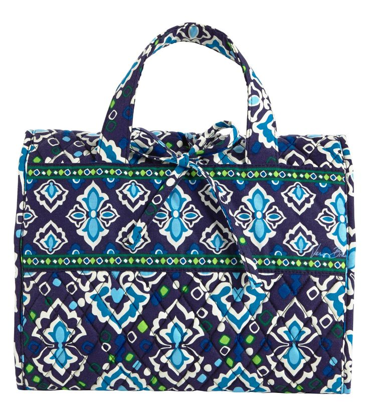 Vera Bradley hanging organizer - my friend said this is THE BEST travel cosmetic bag!!!