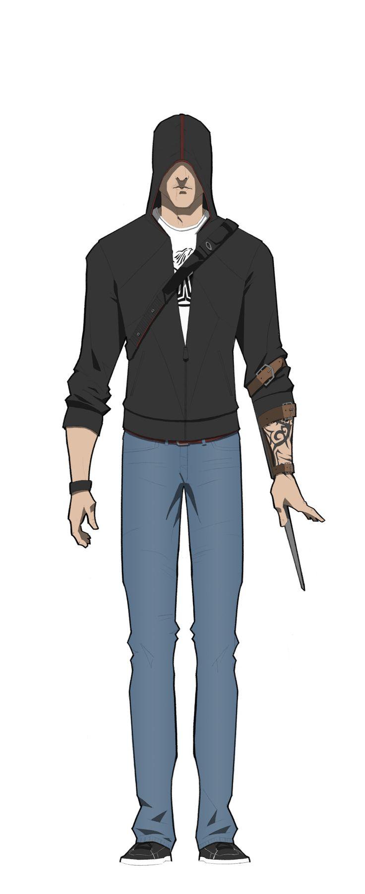 [AC] Assassins in Black - Desmond Miles