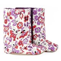 Floral Cord boot