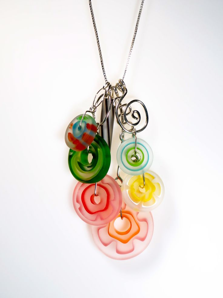 Linda Perrin, American Craft Charm Collection, ACC Charm Necklace #accshow #accwholesale #acccharm #jewelry #finejewelry