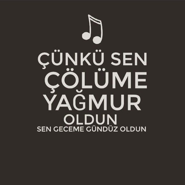 Çünkü sen çölüme yağmur oldun, Sen geceme gündüz oldun... - Müslüm Gürses / Affet #sözler #anlamlısözler #güzelsözler #manalısözler #özlüsözler #alıntı #alıntılar #alıntıdır #alıntısözler #şarkı #şarkıalıntıları #şarkısözleri