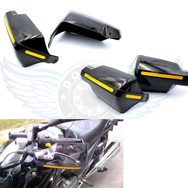 Best Price Motorcycle Accessories Motocrossdirt Bike Handlebar Wind Deflectors Hand Guards For #Triumph #Accessories