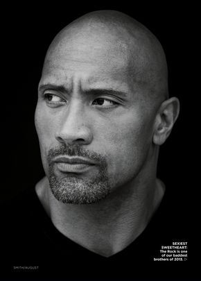 Dwayne 'The Rock' Johnson Essence August 2017