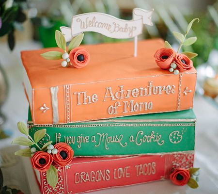 A Beautiful Book Themed Baby Shower For A Lovely Librarian | Disney Baby ...I'm not a librarian but I would love this!