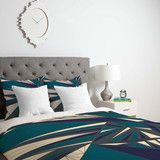 Vy La Tech It Out Midnight Duvet Cover | DENY Designs Home Accessories