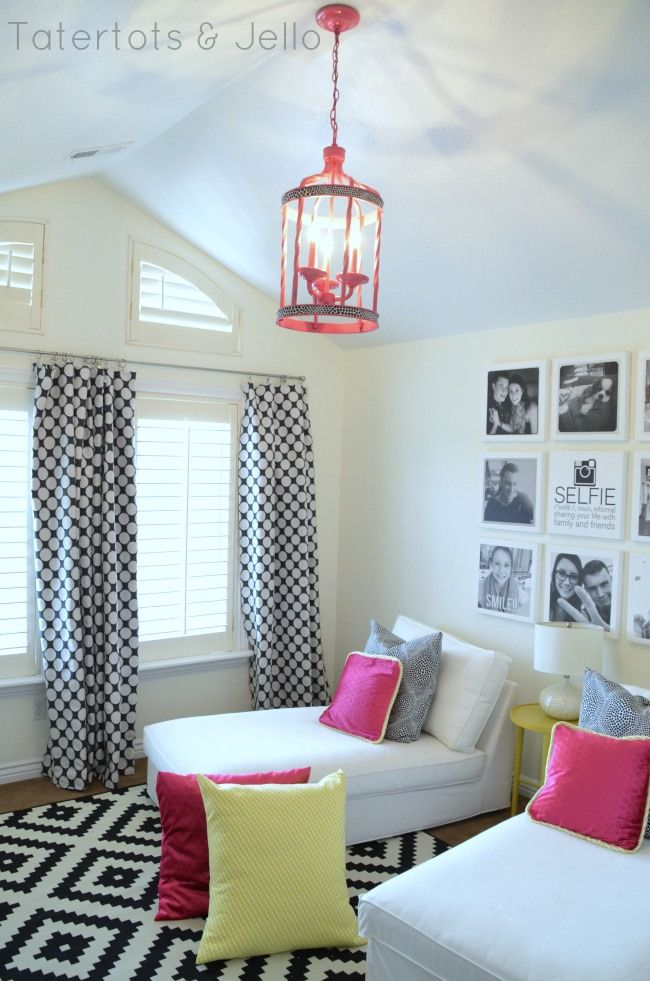 Teen Tween Hangout Room Reveal Inawaverlyworld Wall