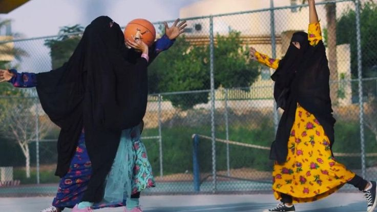 A video showing women in full Islamic dress doing various activities has gone viral on social media