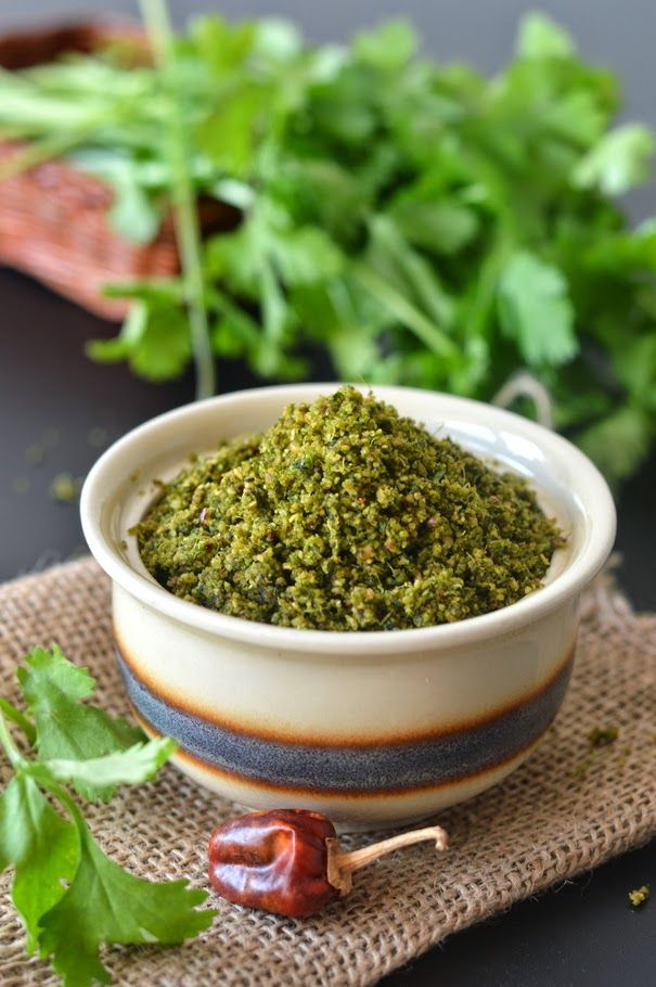 Palakkad Chamayal: Kothamalli Podi/Coriander Leaves Powder