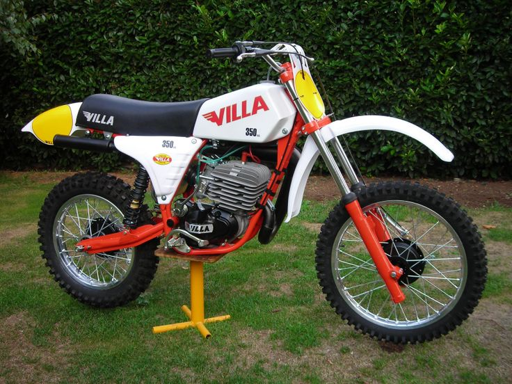 moto villa mx 350 1980 classic motocross pinterest. Black Bedroom Furniture Sets. Home Design Ideas