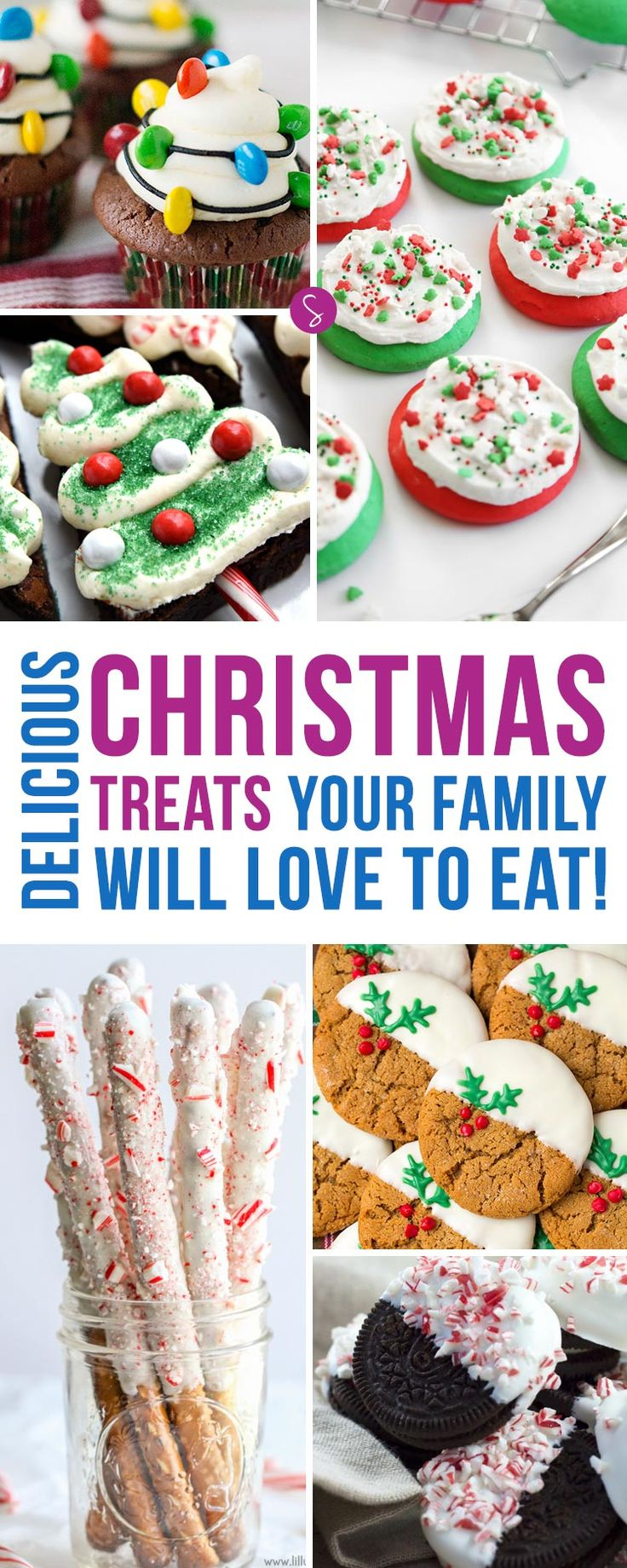 Oh my these Christmas Treats look DELICIOUS! So many ideas for parties and bake sales! Thanks for pinning!