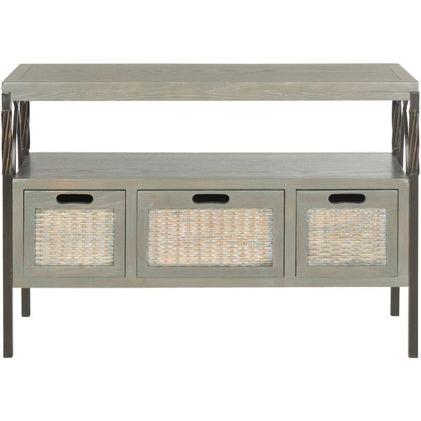 American Home Joshua Console Table Reviews ($227) ❤ liked on Polyvore featuring home, furniture, tables, accent tables, american home furniture and american furniture
