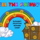 $Letter/Sound Incentive Chart - Fill the Rainbow -- This is a great motivational tool to provide an incentive for your kiddos to learn all the lett...